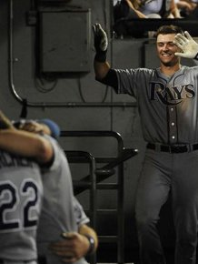 Rays Rookie Hits His First Home Run And Is Forced To Celebrate Alone