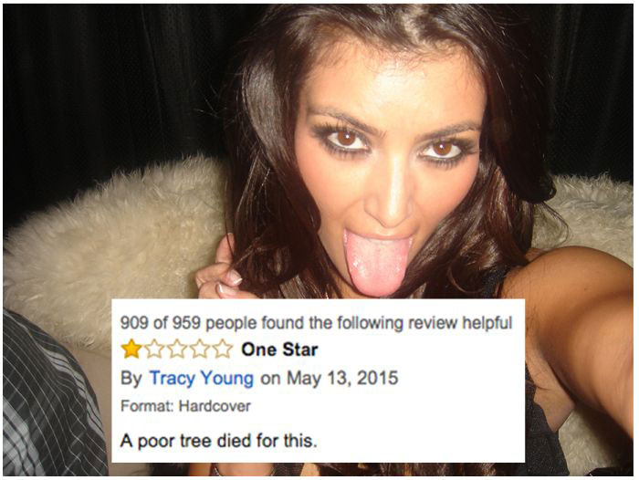 Kim Kardashian's Book Is Getting Crushed By Reviews On Amazon