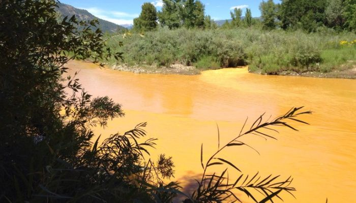 The Animas River Is Running Orange