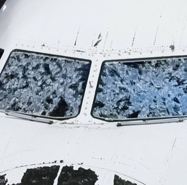Delta Pilot Makes Emergency Landing After Plane Is Damaged By Hail