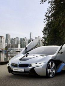 BMW Concept i3 and i8