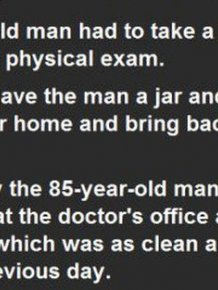 This 85-Year-Old Man Had To Get A Sperm Count For His Physical