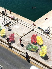These Giant 3D Gummy Bears Aren't Quite What They Appear To Be