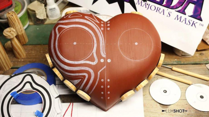 How To Make A Majora's Mask Replica From Legend Of Zelda