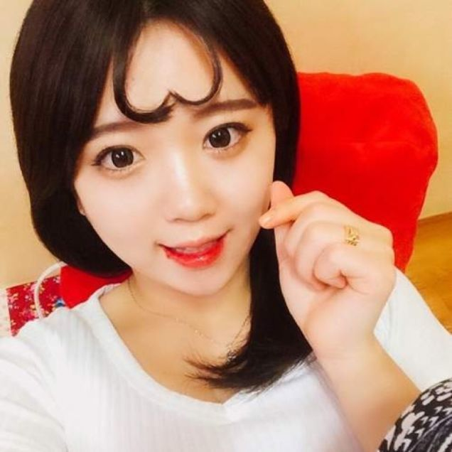 Bangs In The Form Of Hearts Is A New Fashion Trend In South Korea
