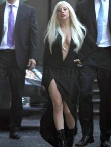 Lady Gaga's Cleavage