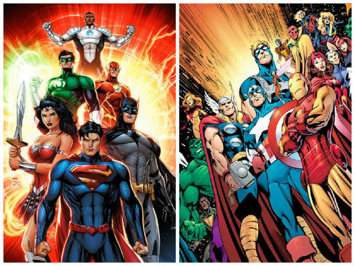 When You Compare Marvel To DC You See They're Not So Different After All