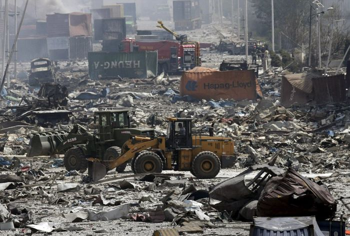 The Chinese City Of Tianjin Will Never Be The Same After This Massive Explosion