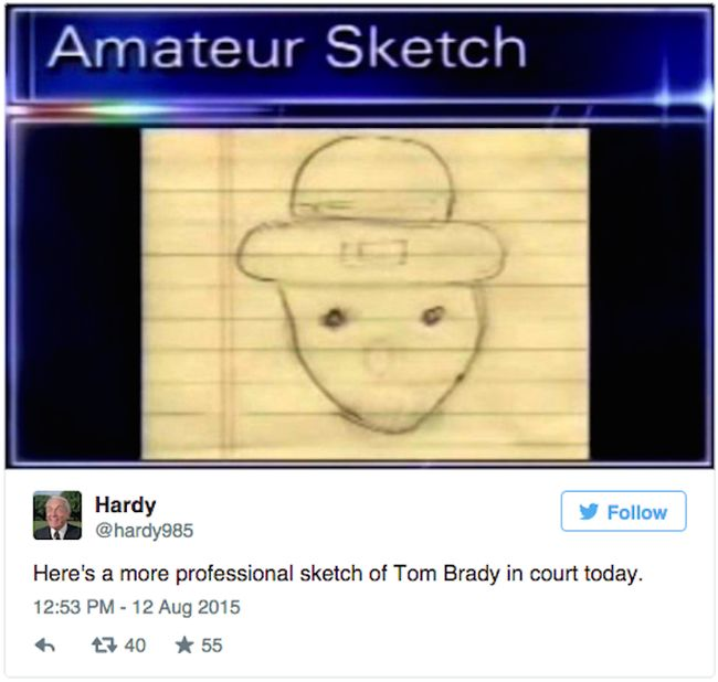 The Internet Is Having Way Too Much Fun With This Sketch Of Tom Brady