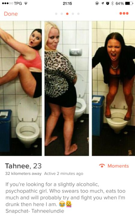 Weird, Funny And Awesome People You Can Meet On Tinder