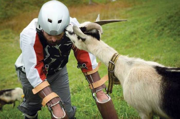 Meet The Man Who Decided To Become A Goat