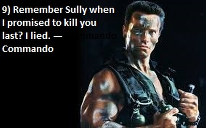 The Top 50 Greatest Quotes In Action Movie History
