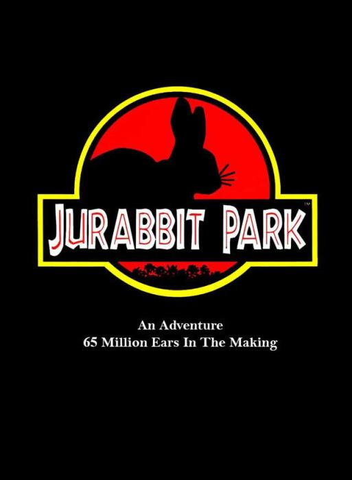 Jurabbit Park Recreates Famous Scenes From Jurassic Park Using A Rabbit
