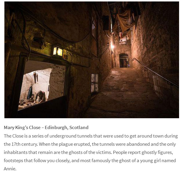 Take A Look At The Most Haunted Locations On The Planet