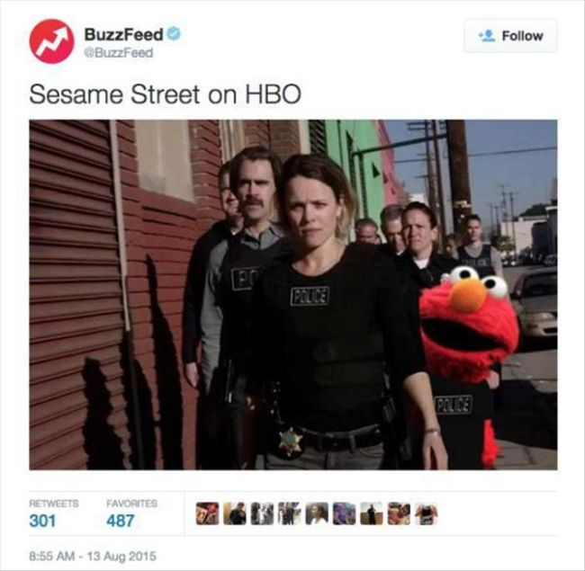 The Internet Had The Perfect Reactions To HBO's Sesame Street Announcement