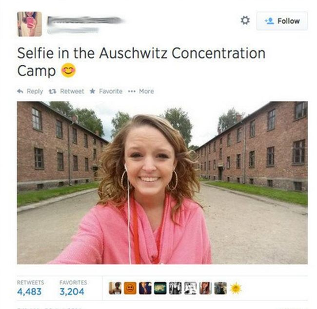 Inappropriate Selfies Taken At The Worst Possible Times