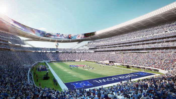 Concept Art Shows What The New NFL Stadium In Los Angeles Could Look Like