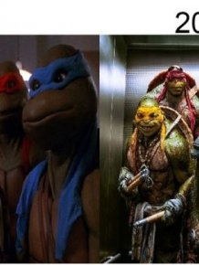 Classic Movie Shots Get Compared To Their Modern Remakes