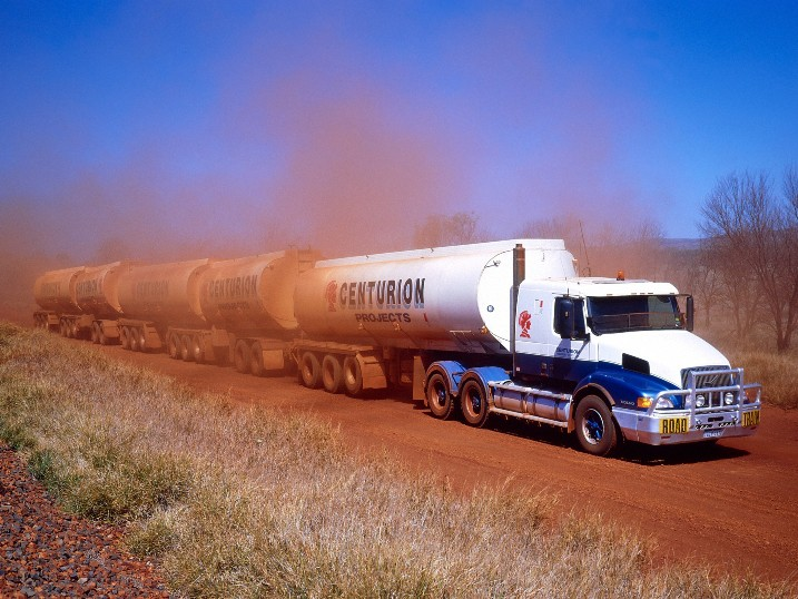 Road Trains In Australia Vehicles