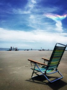 Extremely Rare Fire Rainbow Spotted In The Skies Of South Carolina