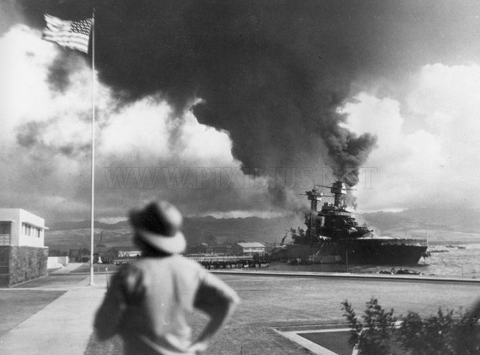 Rare Photos of Attack on Pearl Harbor
