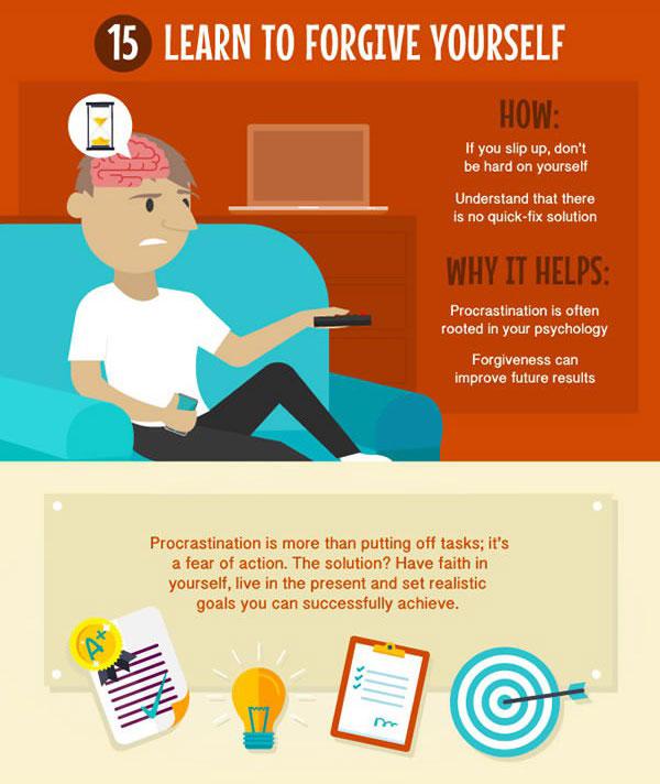 15 Tips To Help You Overcome Procrastination