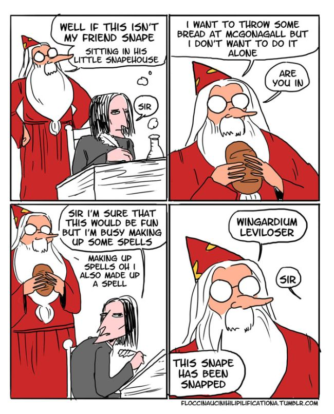 Dumbledore Shows Off His Sassy Side In These Funny Harry Potter Comics