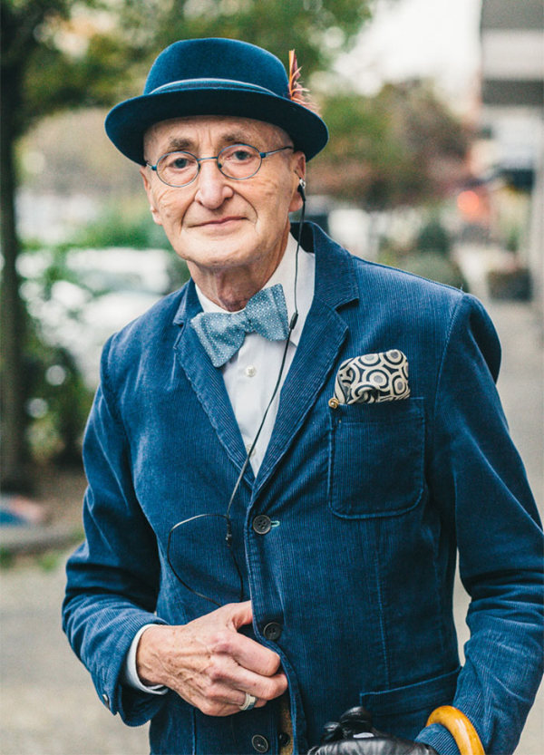 Hip Grandpa Dresses Better Than Most People Half His Age