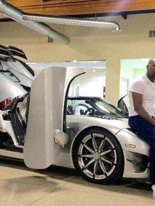Floyd Mayweather Buys New $4.8 Million Dollar Car