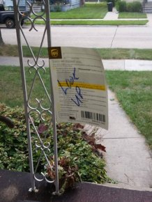 UPS Delivery Driver Went Out Of His Way For This Package