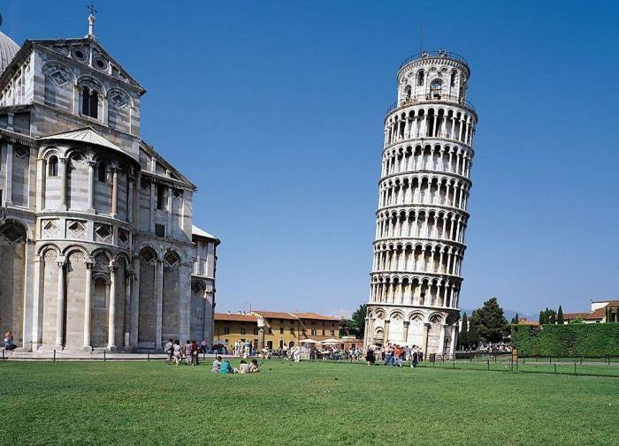 Inside the Tower of Pisa