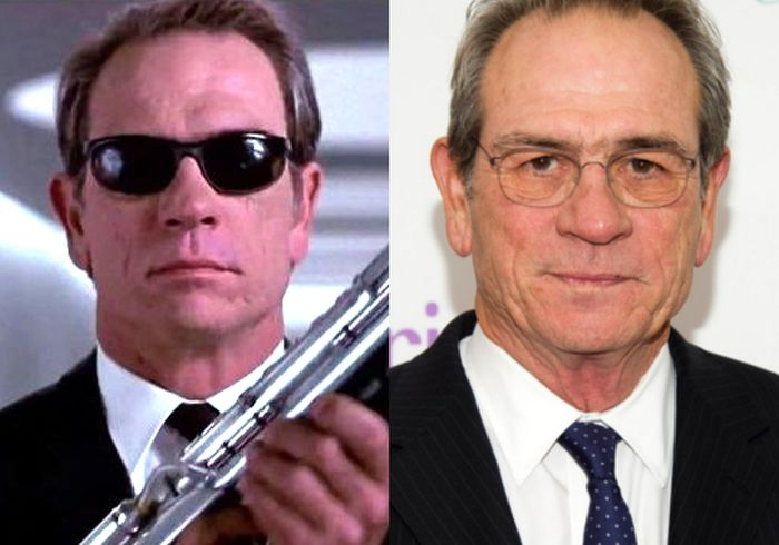 See The Cast Of Men In Black Back In The Day And Today