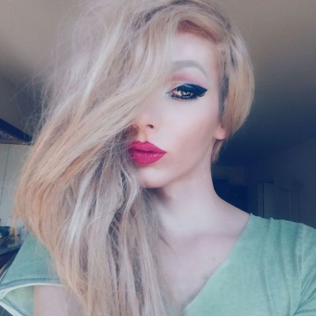 This Man Used The Power Of Makeup To Transform Himself Into A Woman