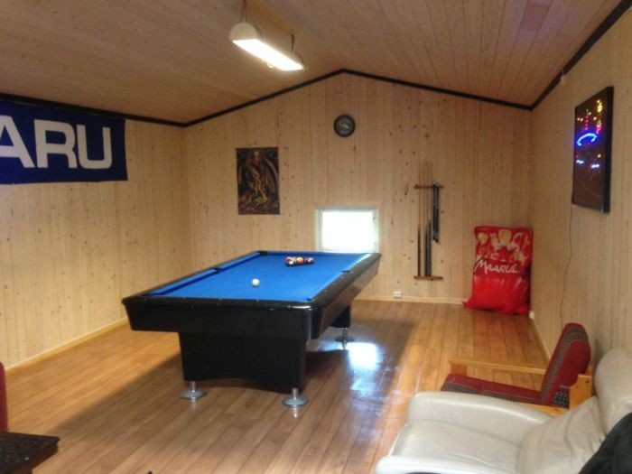 With A Little Bit Of Work This Collapsed Barn Became The Ultimate Billiard Room