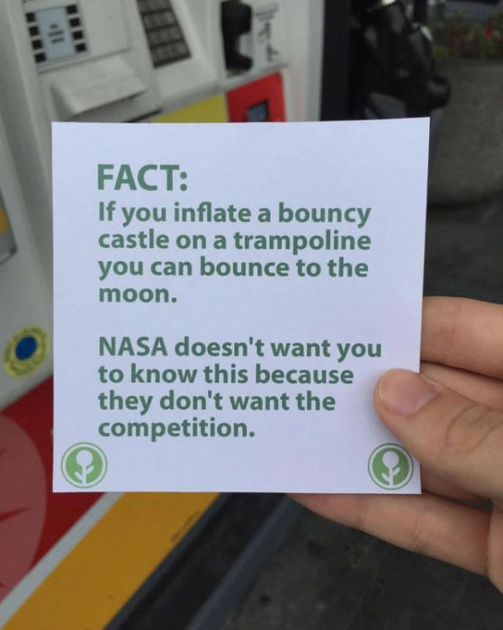 This Guy Filled Up An Empty Box With The Most Hilarious Fun Facts Ever