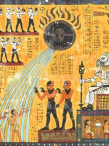 The Story Of Mad Max Told In The Ancient Egyptian Style