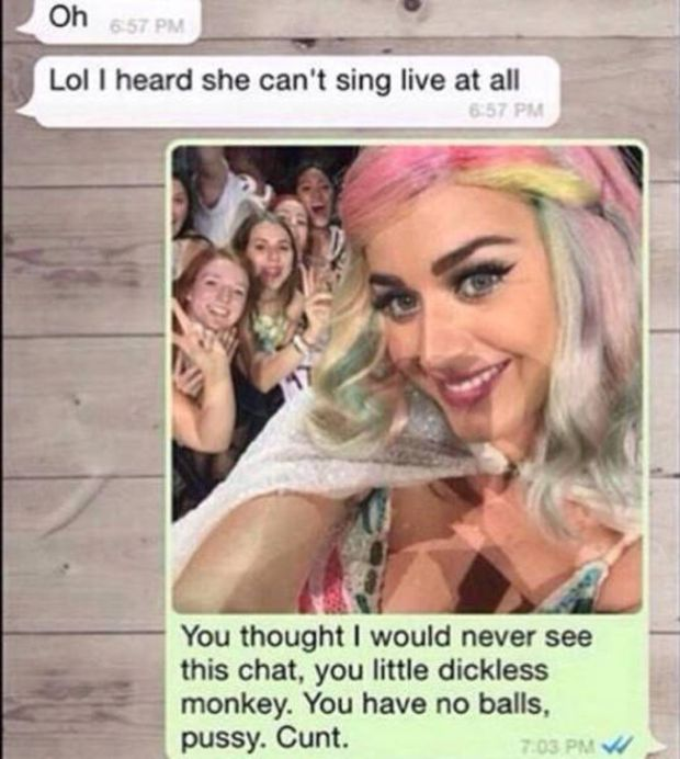 Katy Perry Answers Her Fan's Ex