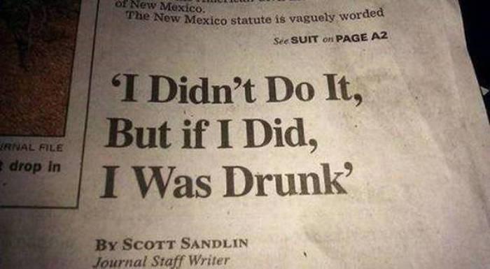 Drunk People, part 13