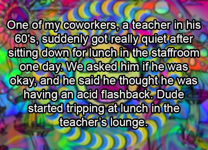 What Actually Happens In The Teacher's Lounge