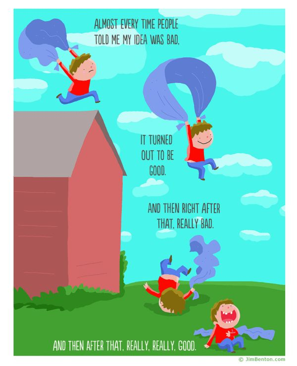 Funny Comics By Jim Benton