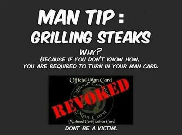 Manly Guide To Grilling Steaks