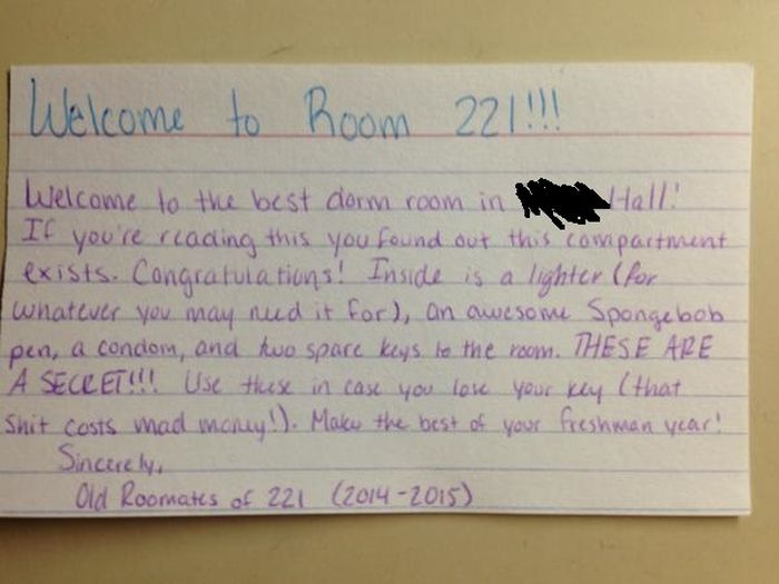 Freshman Finds A Secret Starter Kit in His Dorm Room