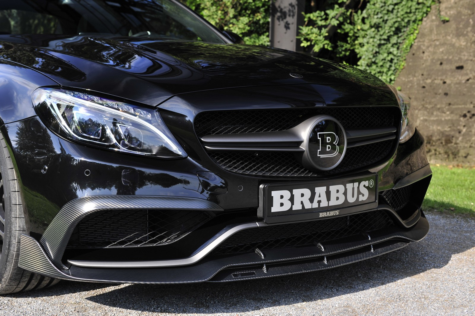 Mercedes-Benz C63 AMG S from Brabus