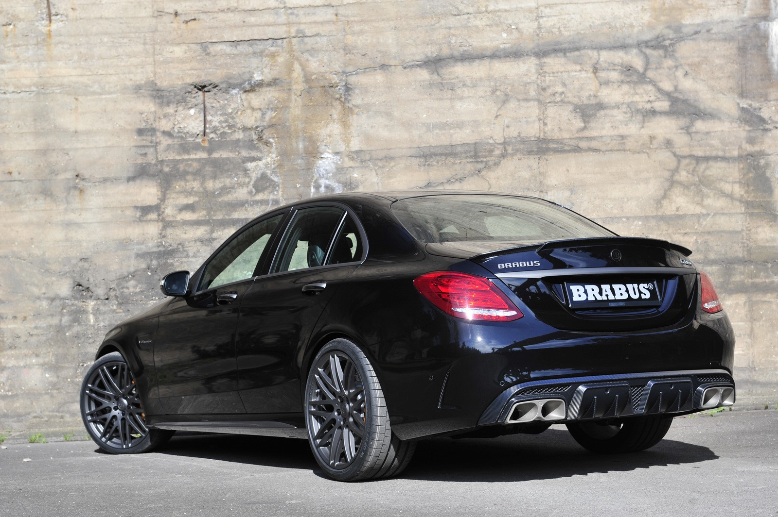 Mercedes benz c63 amg s from brabus vehicles for Mercedes benz c63 amg 2010