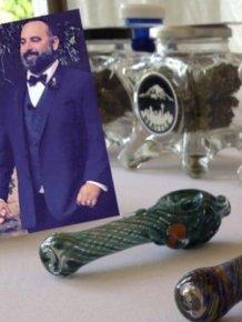 Weed Bar At The Wedding