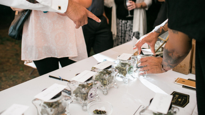 Weed Bar At The Wedding