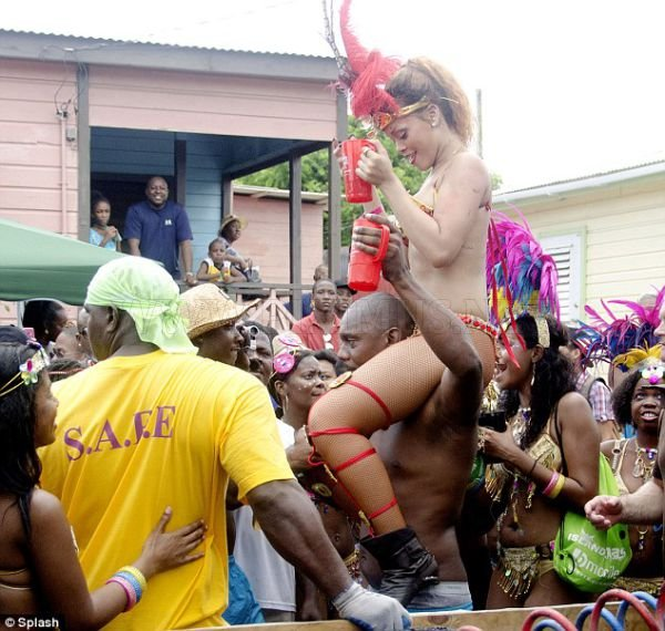 Voodoo Woman Rihanna
