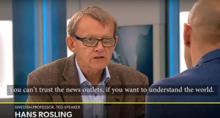 Swedish Professor Talks About Media