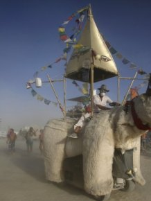 Photos of the Burning Man 2015