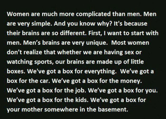 Why Do Men And Women Think Differently?